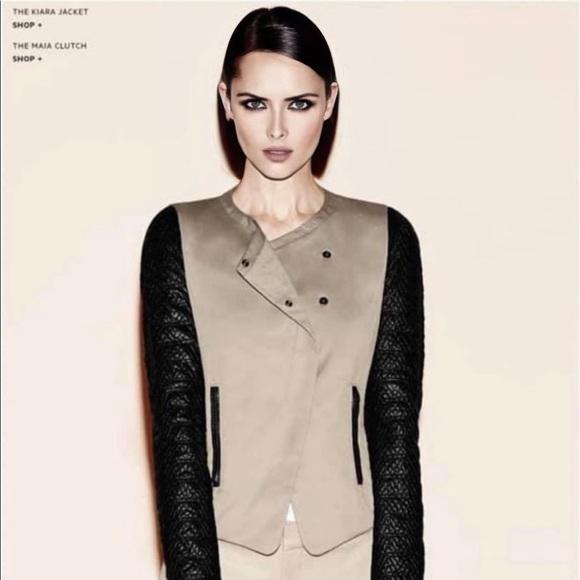 ‼️ HOST PICK ‼️ Danier Jacket W/Leather Sleeves